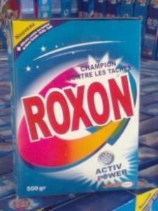 مسحوق الغسيل الالي و اليدوي ROXON لتجار الجملة