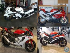 BUY ME:2015/16/14 Suzuki HAYABUSA GSX1300R, 2015 Yamaha R6 / R1 , 2015 BMW S1000RR...And many more