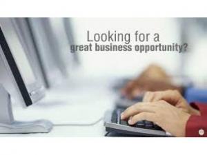 أنا أبحث عن فرص تجارية كبيرة