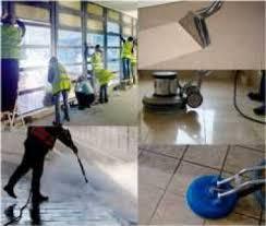 التنظيف الشامل من الداخل و الخارج للمباني بعد البناء و