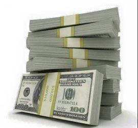 نحن نقدم 100 ٪ من المال مع مصلحة حقيقية منخفضة