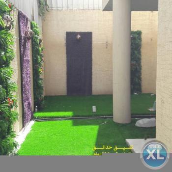افضل تنسيق حدائق عشب صناعي عشب جداري الرياض جدة الدمام 0553268634