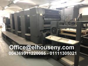 ماكينة طباعة هايدلبرج سبيد ماستر 4 لون   2000