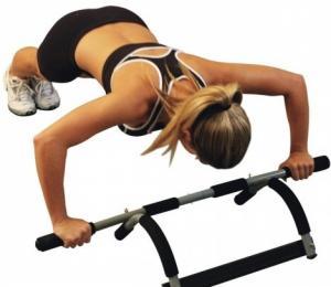 عقلة آيرون جيم بار الرياضية لتنمية عضلات الجسم01283360296