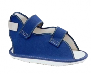حذاء الجبس الطبى لتقليل التأثير على الساق المصابة أثنا
